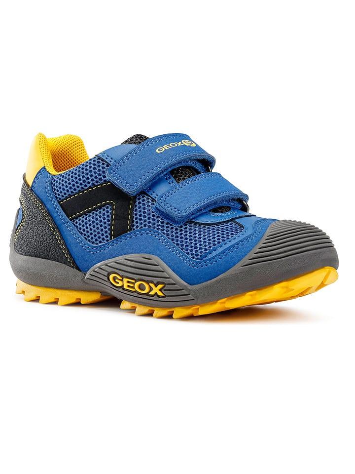 """Geox Sneakersy """"Atreus"""" w kolorze niebieskim"""