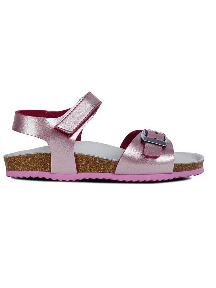 """Geox Sandały """"Adriel"""" w kolorze jasnoróżowym"""