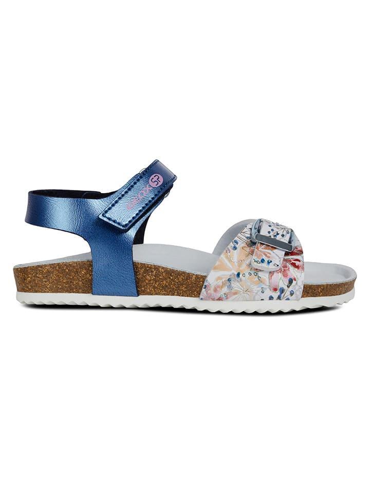 """Geox Sandały """"Adriel"""" w kolorze niebieskim"""