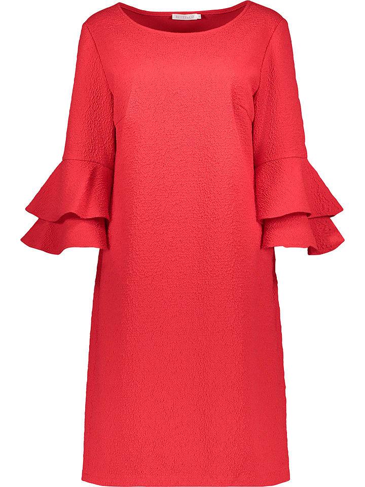 BETTY & CO Sukienka w kolorze czerwonym