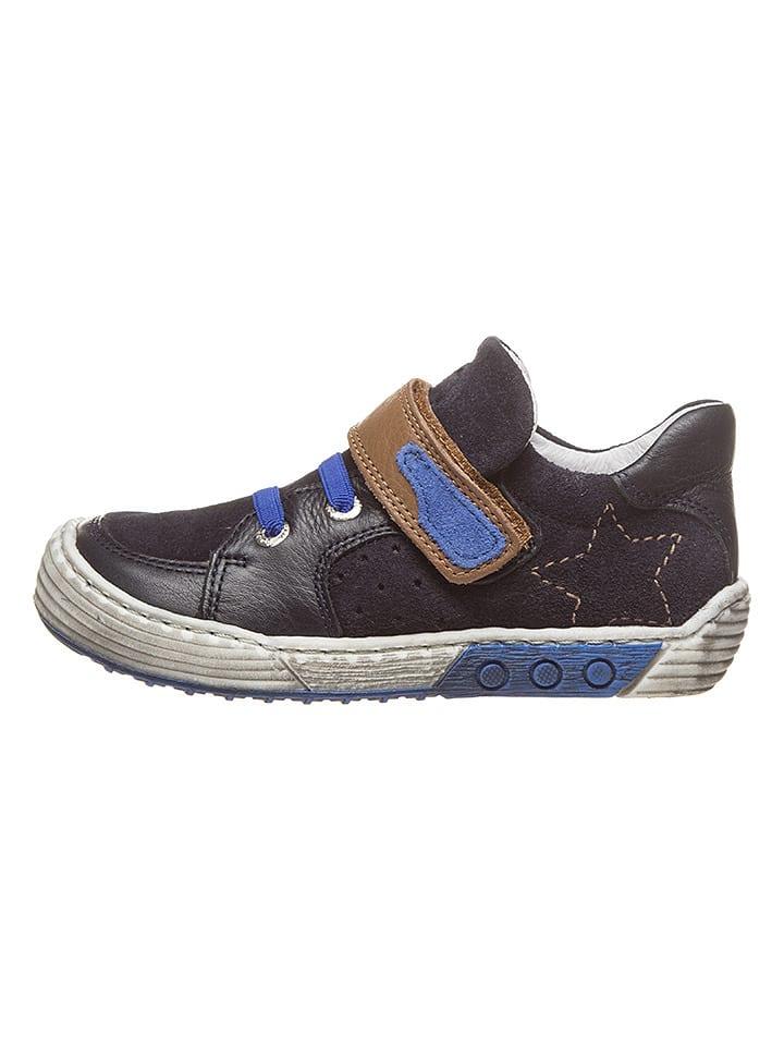new product 8bd79 b817f BO-BELL - Leder-Sneakers in Dunkelblau | limango Outlet