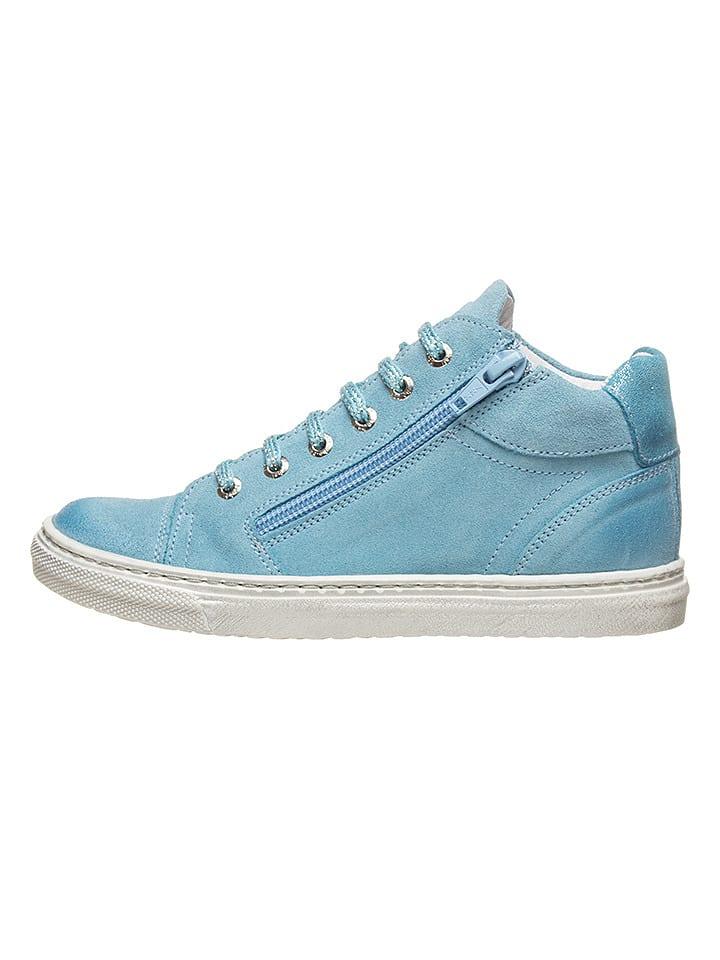 BO-BELL Leren sneakers lichtblauw