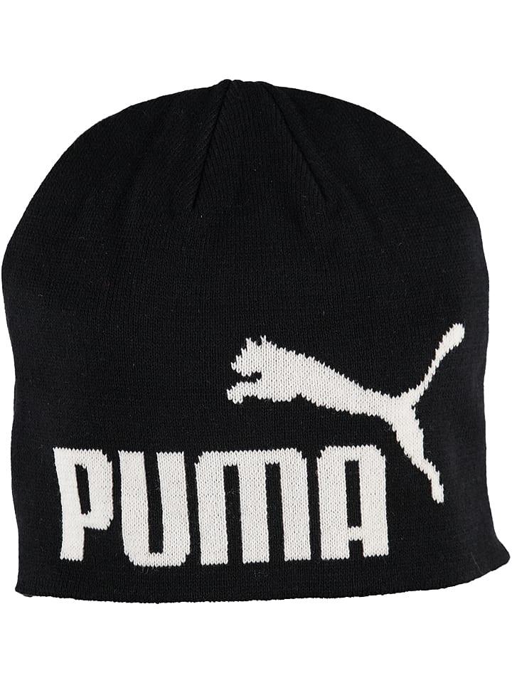 """Puma Czapka beanie """"Essential Big Cat"""" w kolorze czarnym"""