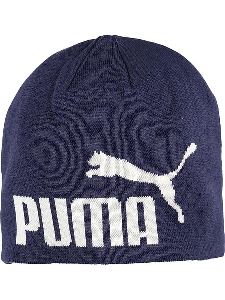 """Puma Czapka beanie """"Essential Big Cat"""" w kolorze granatowym"""