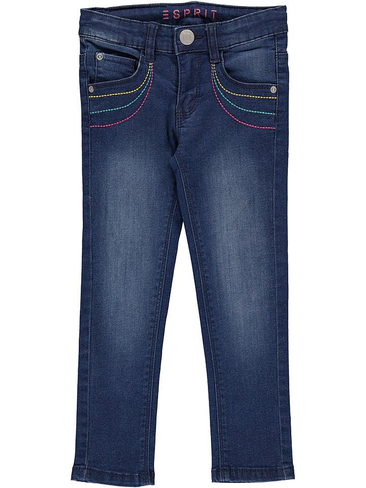 ESPRIT Spijkerbroek donkerblauw