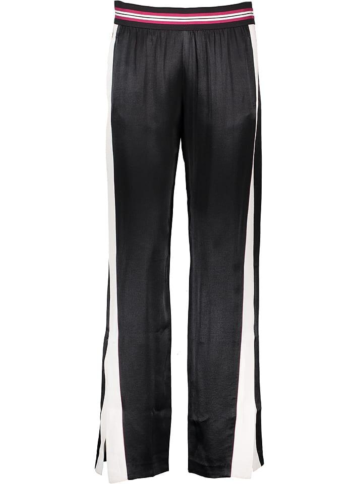 Sisley Fashion Spodnie w kolorze czarnym