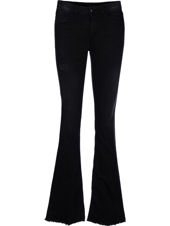 Sisley Fashion Dżinsy - Comfort fit - w kolorze antracytowym