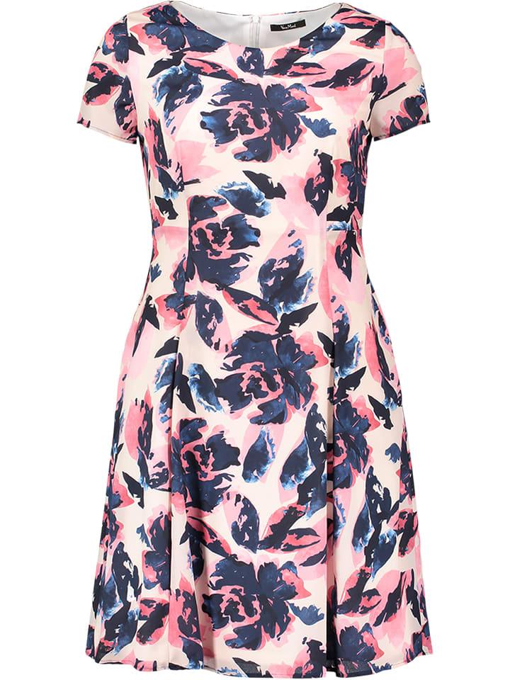 Vera Mont - Kleid in Pink/ Dunkelblau | limango Outlet