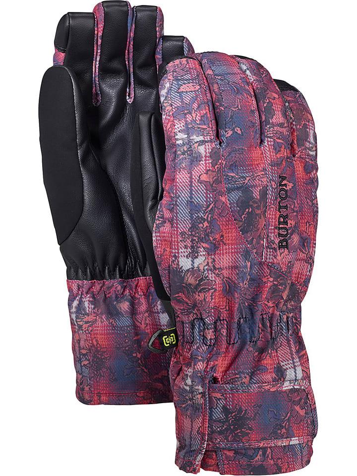 """Burton Rękawiczki snowboardowe """"Profile"""" w kolorze różowo-fioletowym"""