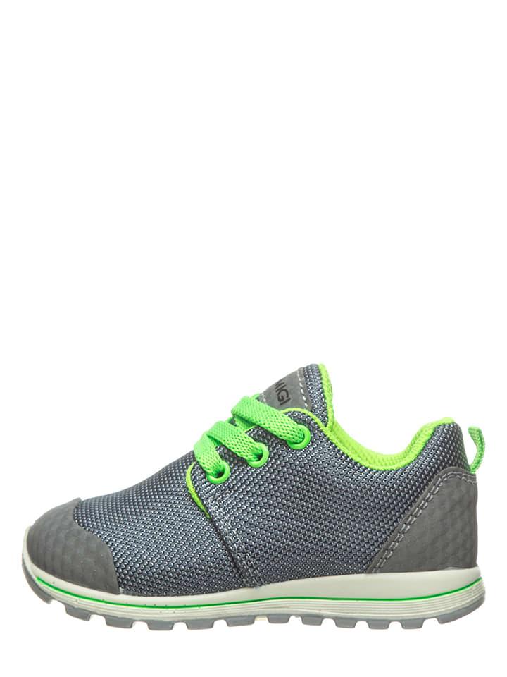 Primigi Sneakers grijs/neongroen