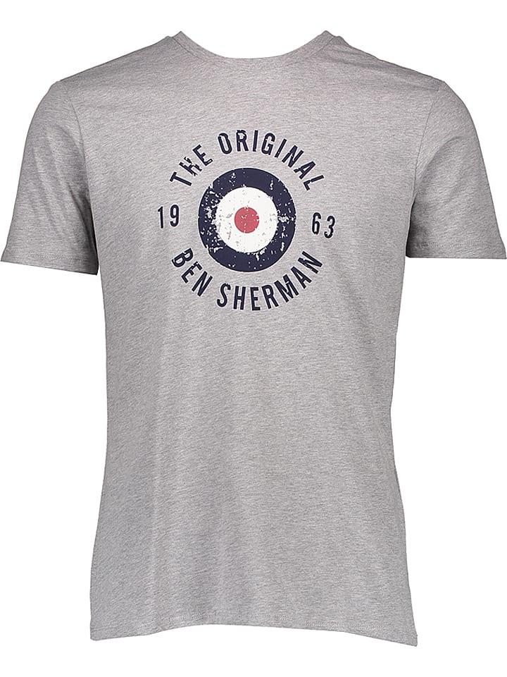"Ben Sherman Shirt ""Destorted Target"" in Grau"