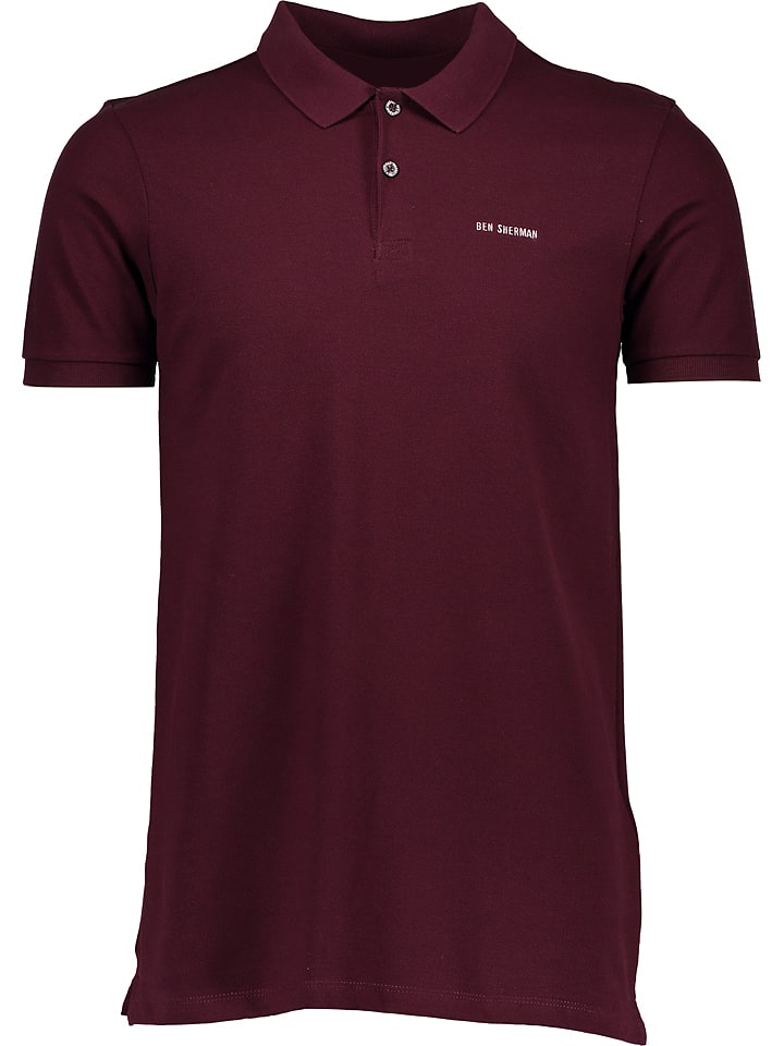 Ben Sherman Poloshirt in Pflaume