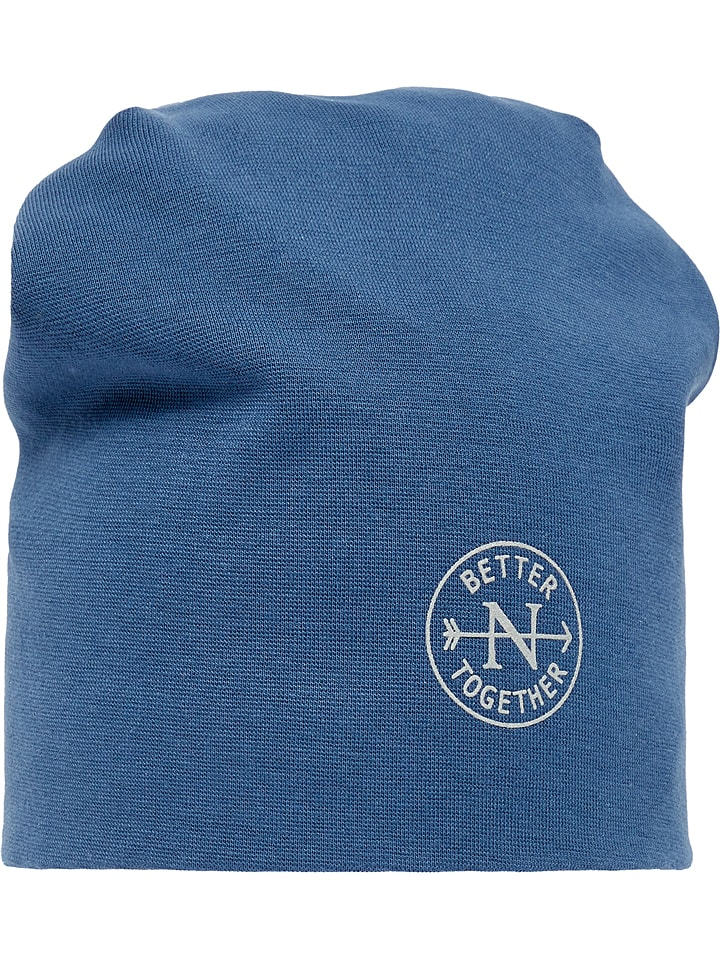 "Name it Beanie ""Moppy"" in Blau"