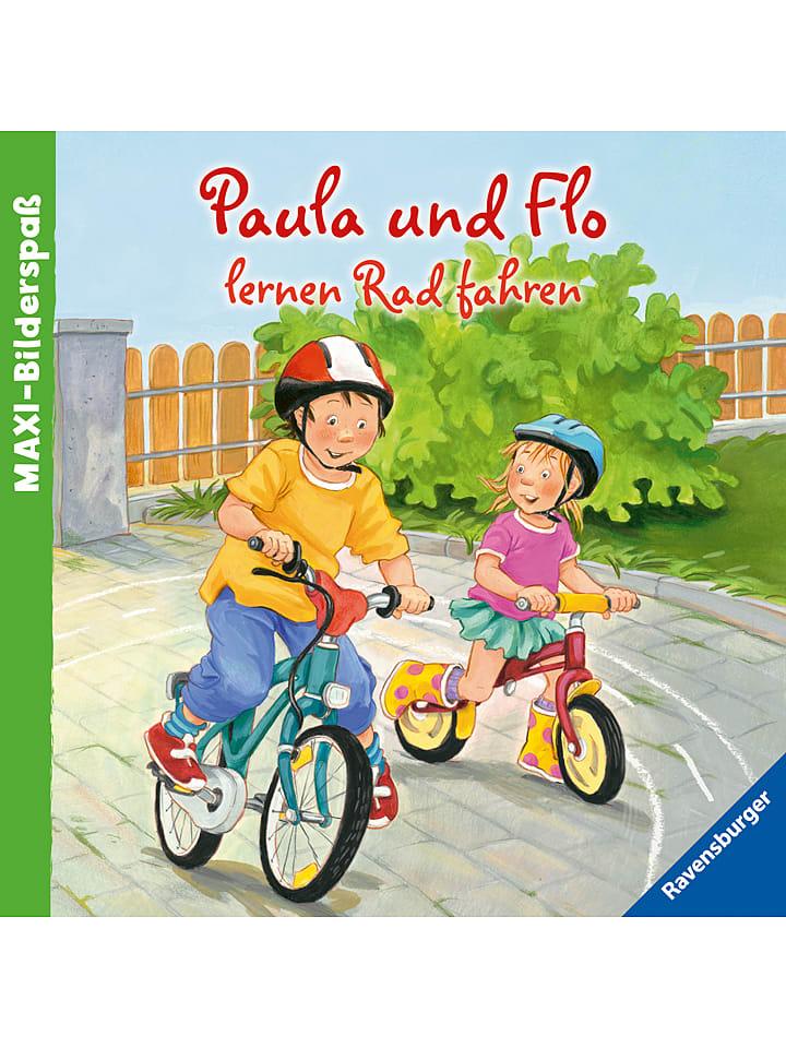 Ravensburger Bilderbuch Paula und Flo lernen Rad fahren - 16% | Kinderbuecher