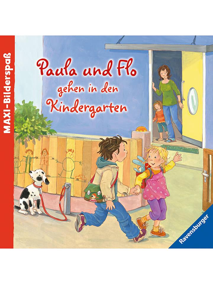 Ravensburger Bilderbuch Paula und Flo gehen in den Kindergarten - 33% | Kinderbuecher