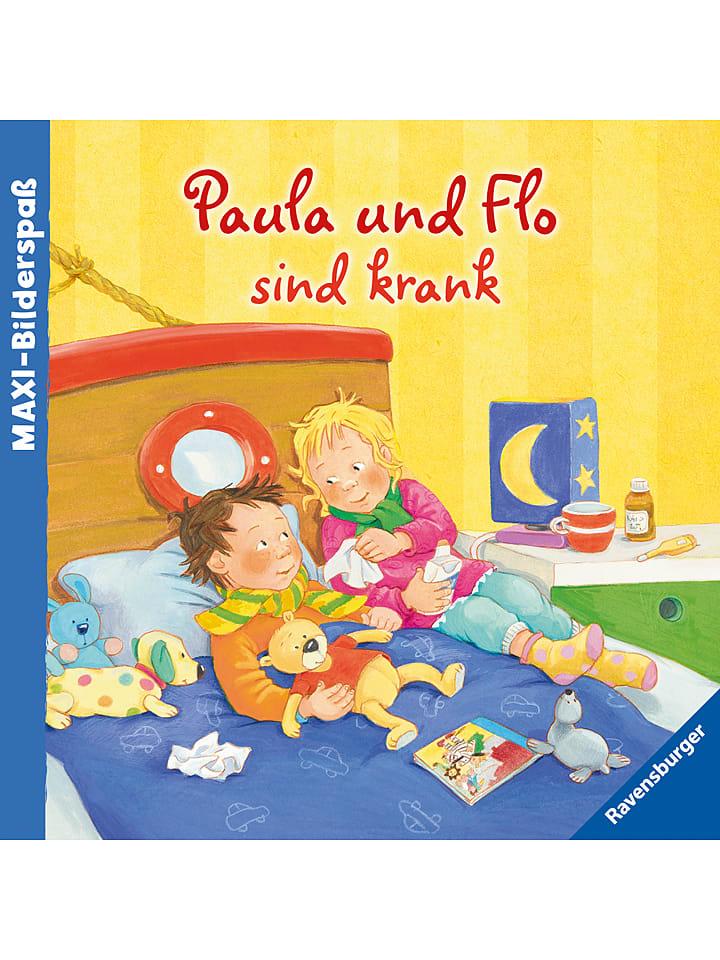 Ravensburger Bilderbuch Paula und Flo sind krank - 33% | Kinderbuecher