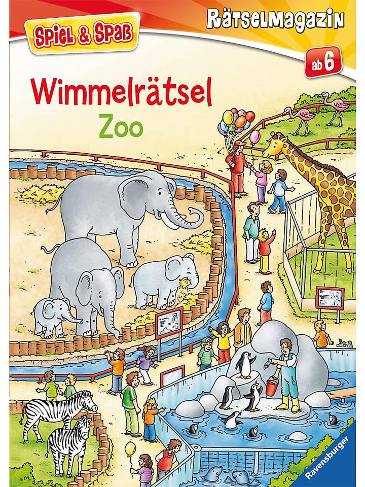 Ravensburger Wimmelrätsel Zoo - 50%   Kinderbuecher