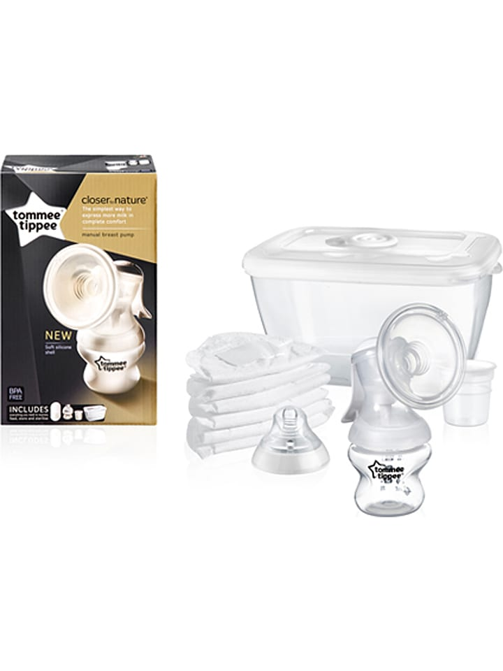 """Rotho Babydesign Milchpumpe """"Tommee Tippee Closer to Nature"""" in Transparent"""