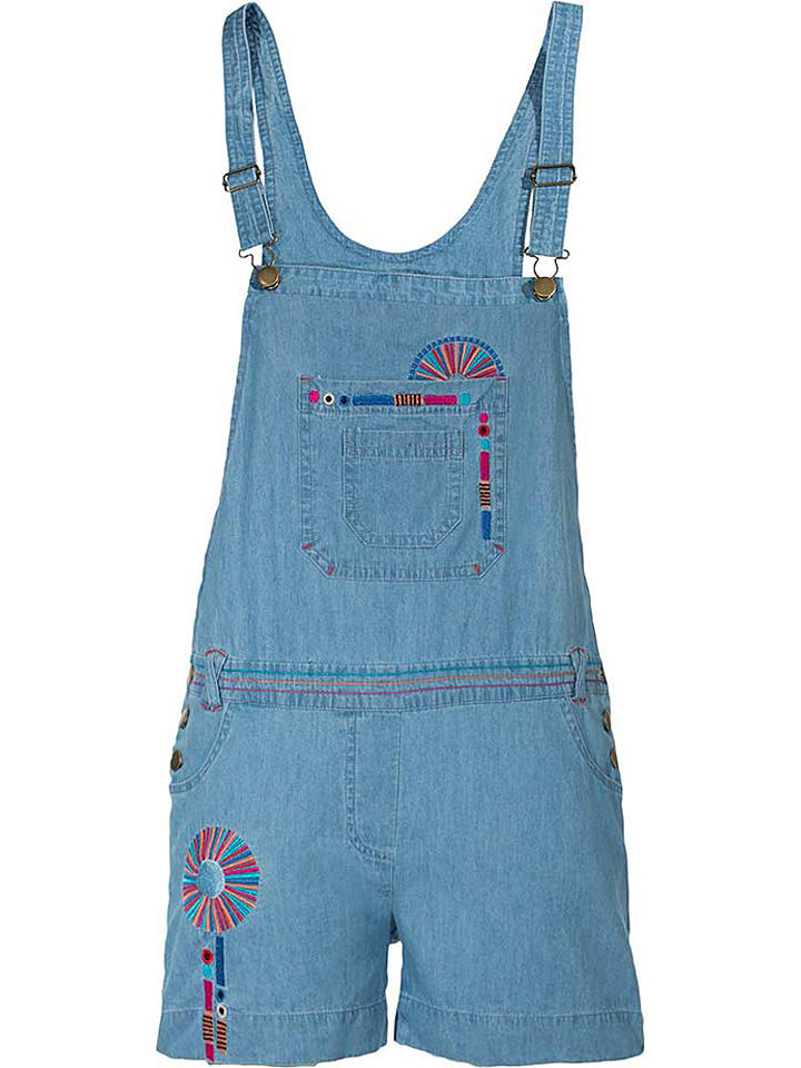 Coline Jeans-Latzhose in Blau - 33%   Größe S   Damenhosen