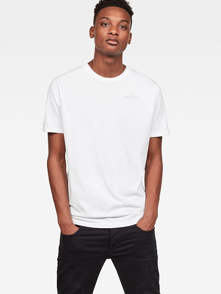 G-Star Koszulka w kolorze białym