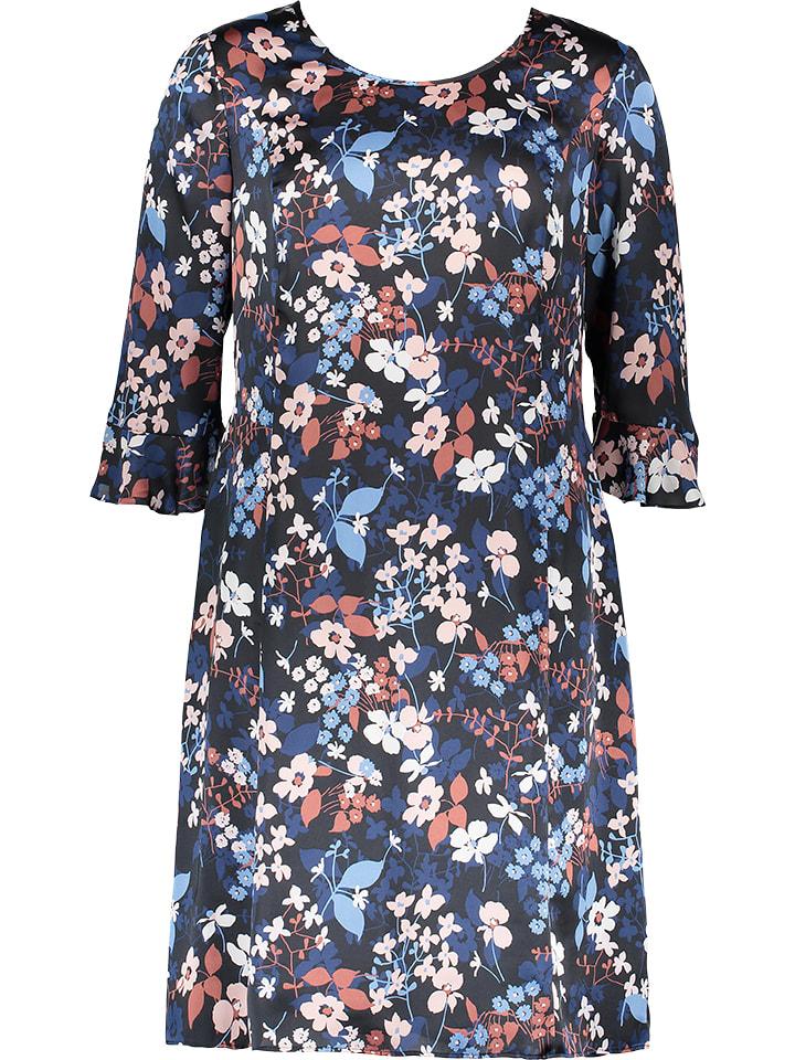 Gerry Weber Sukienka w kolorze granatowym ze wzorem