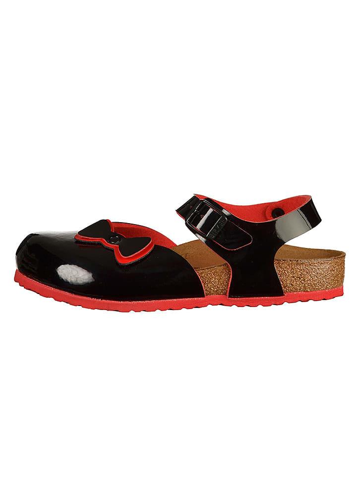 """Birkenstock Sandały """"Anguilla"""" w kolorze czarnym"""