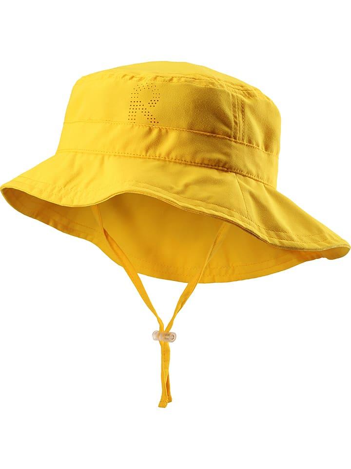 """Reima Kapelusz przeciwsłoneczny """"Tropical"""" w kolorze żółtym"""