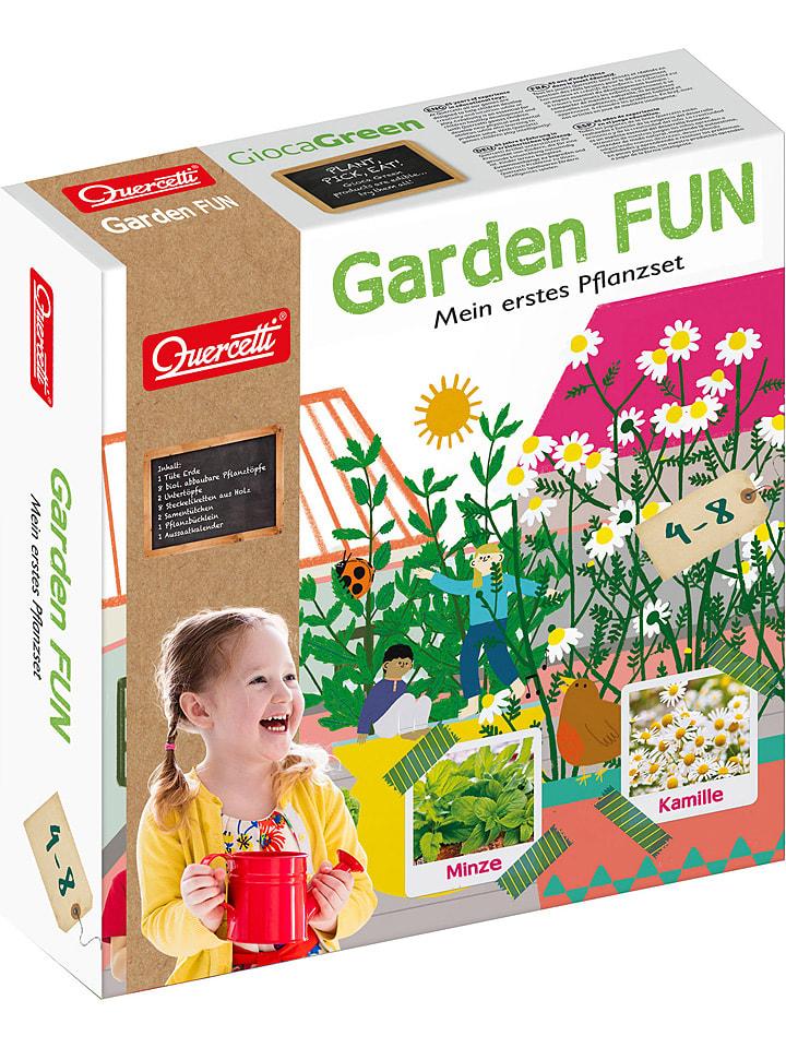 """Quercetti Kit de plantation """"Garden Fun"""" - menthe et camomille - à partir de 4 ans"""