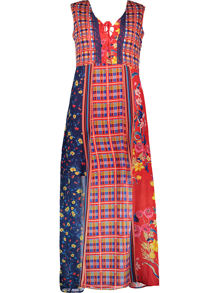 101 idées - Maxi-Kleid in Rot | limango Outlet