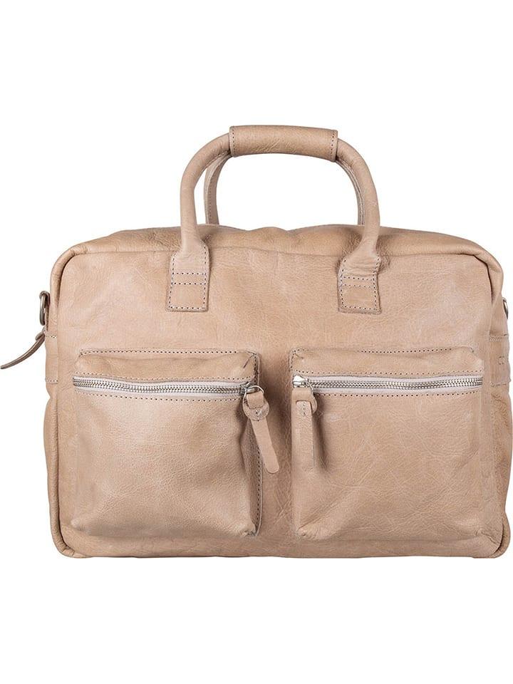 Cowboysbag  Leder-Aktentasche ´´The Bag´´ in Sand (B)42 x (H)27 x (T)15 cm | 46% Rabatt | Damen taschen | 08718586589988