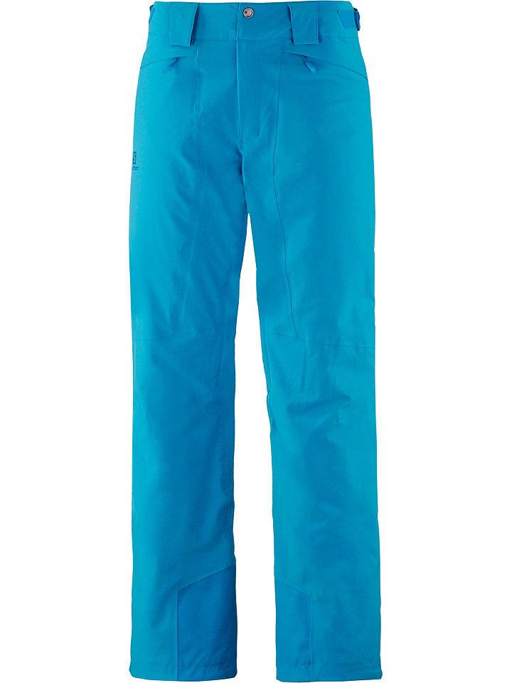 "SALOMON Pantalon de ski/snowboard ""Icemania"" - bleu"