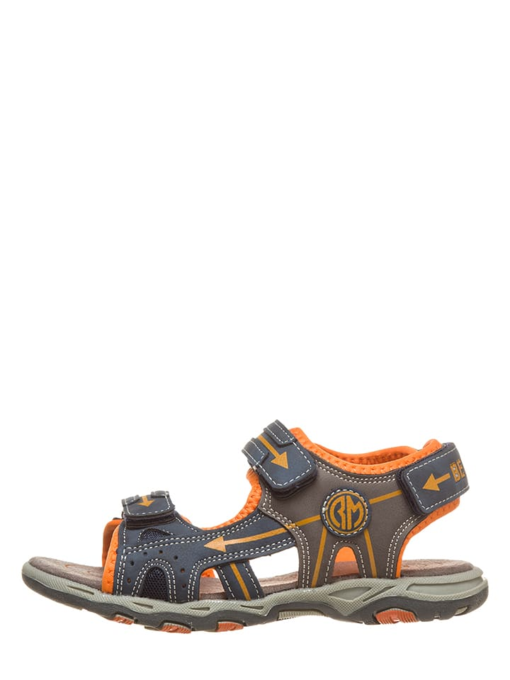 BeMega Sandały w kolorze granatowym