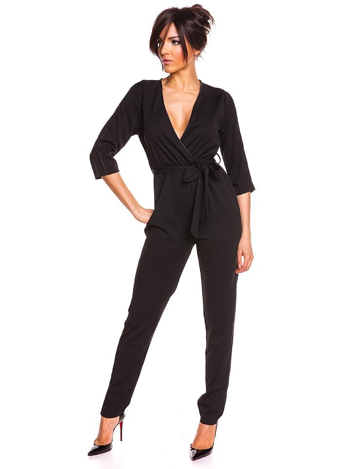 "Saint Germain Paris Jumpsuit ""Brendy"" zwart"
