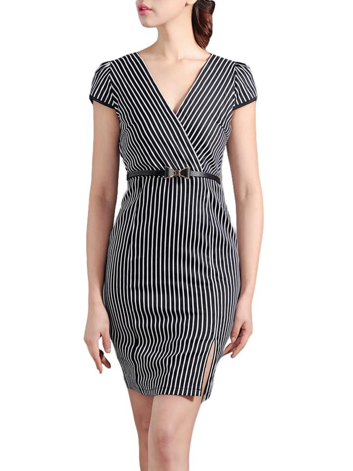 Vogue.Va Sukienka w kolorze czarno-białym