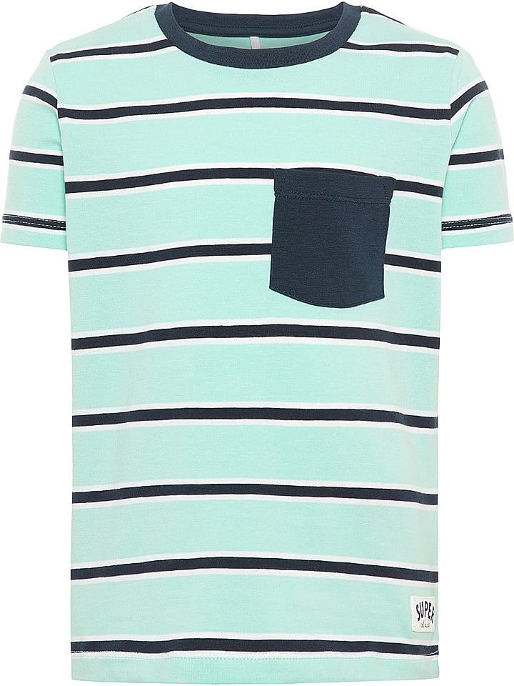 "Name it Shirt ""Faner"" in Mintgrün"