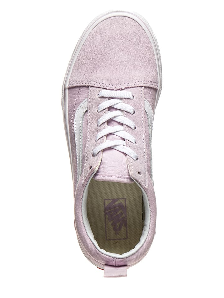Sneakersy Old Skool Elastic w kolorze jasnoróżowym Vans