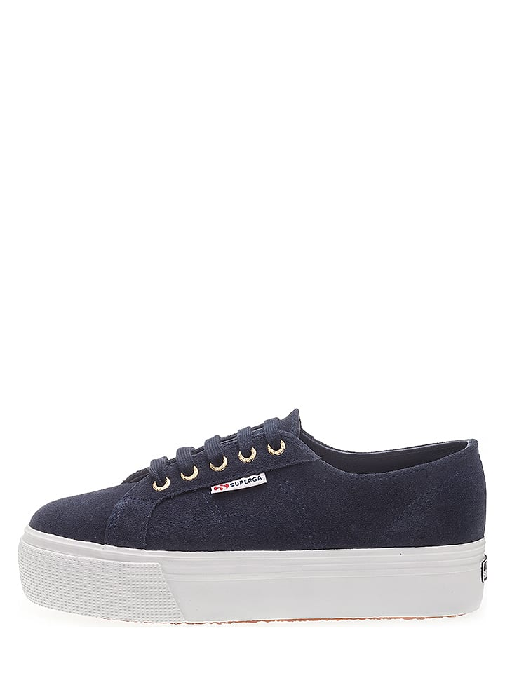 fbae59aa325112 Superga - Leder-Sneakers