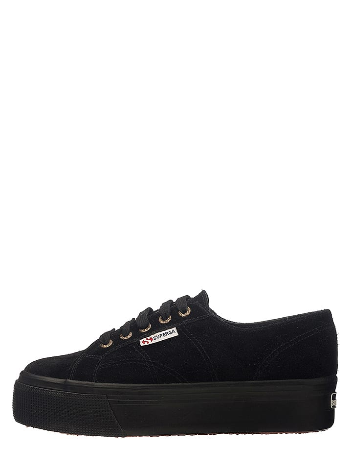 748801cd2a98dd Superga - Leder-Sneakers