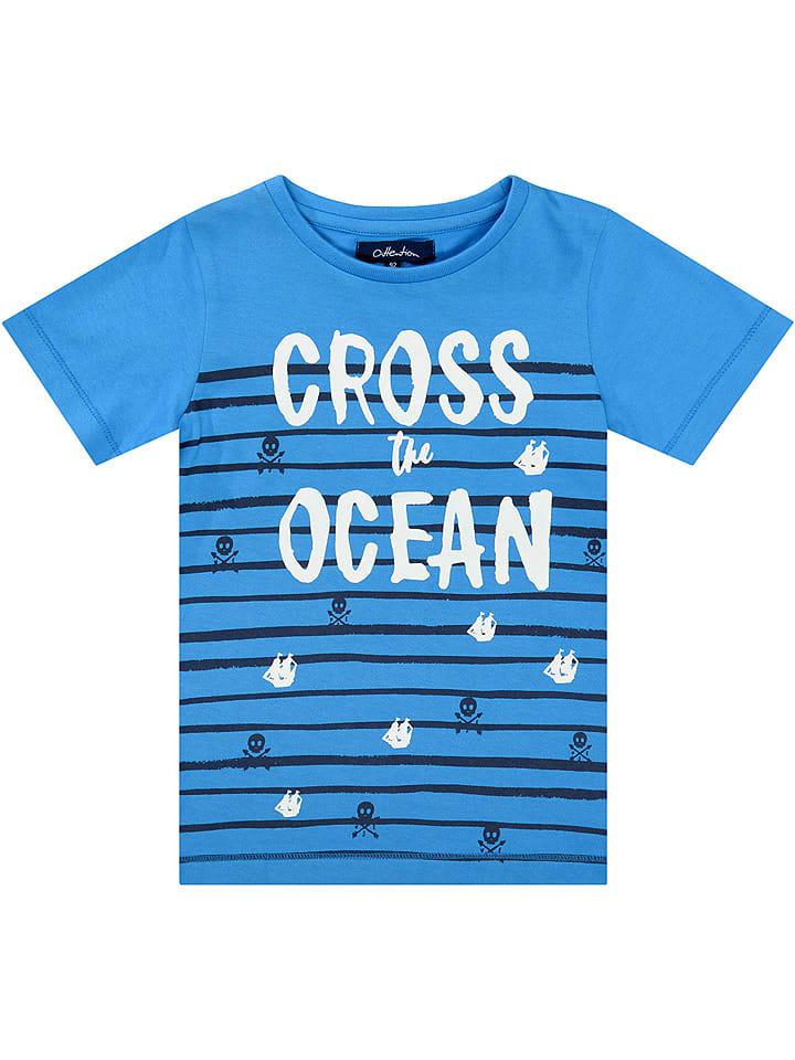 ATTENTION Shirt in Blau
