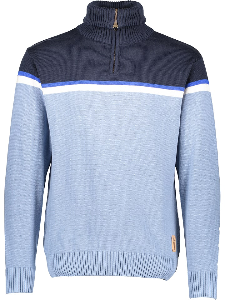 """Derbe Sweter """"Sepp"""" w kolorze błękitnym"""