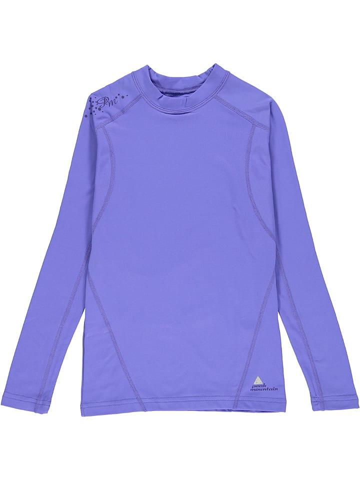Peak Mountain T-shirt fonctionnel manches longues - bleu
