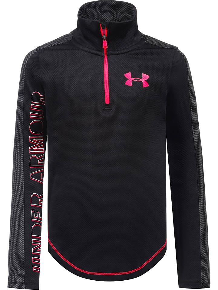 Under Armour Bluza funkcyjna w kolorze czarnym