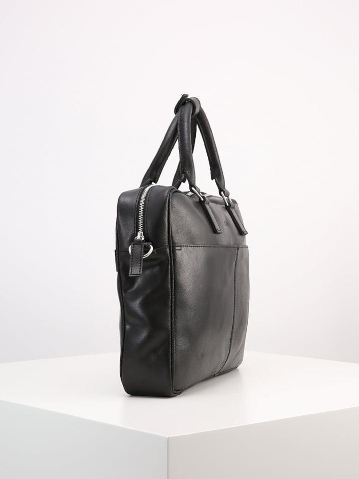 7d08b2c899 KIOMI - Sacoche pour ordinateur portable en cuir - noir | Outlet limango