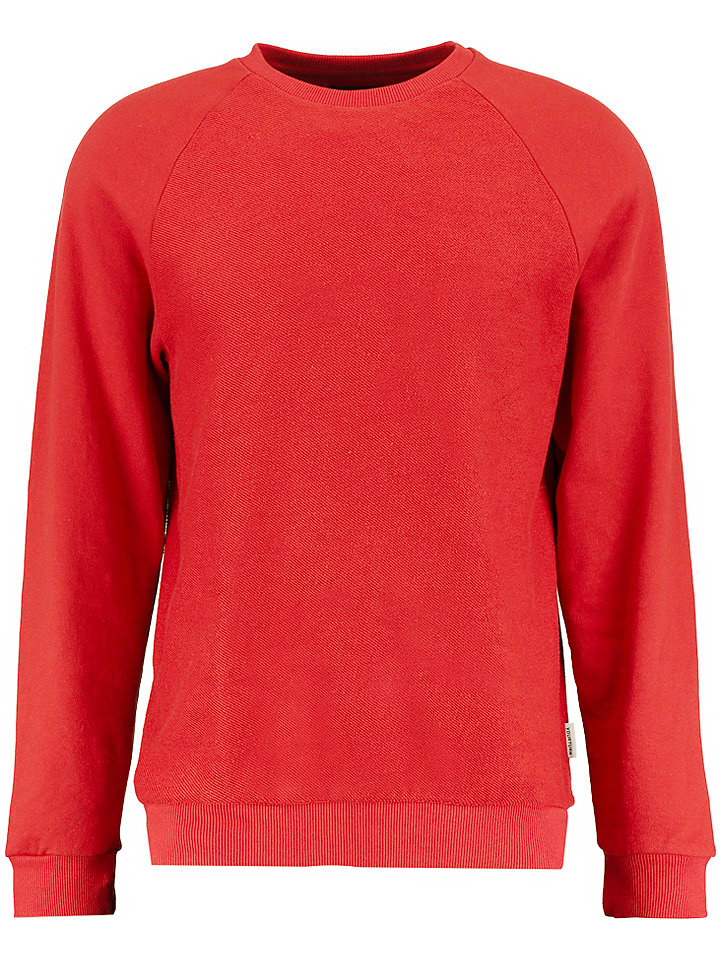 YOURTURN Bluza w kolorze czerwonym