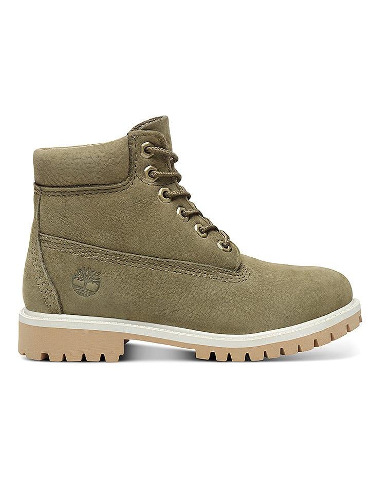 timberland 6 inch premium boot kaki