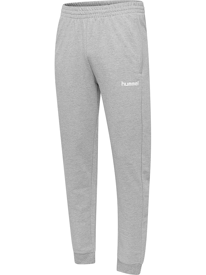 """Hummel Pantalon en sweat """"Logo"""" - gris"""
