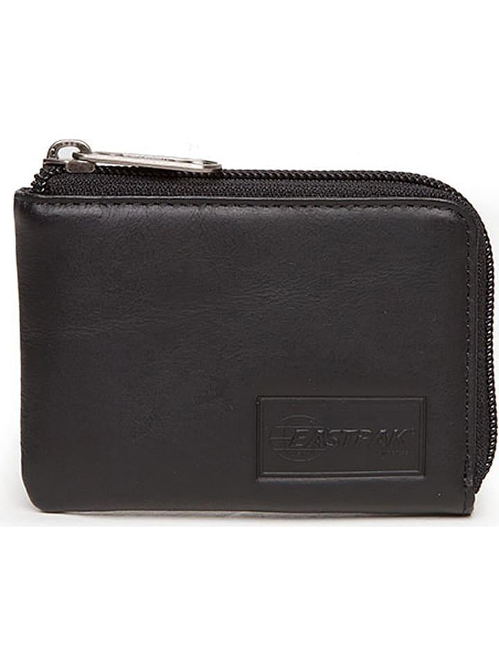 """Eastpak Portefeuille en cuir """"Droop"""" - noir - 8 x 11,5 x 1,5 cm"""