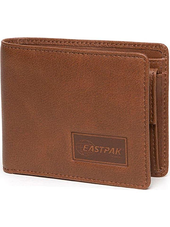 """Eastpak Portefeuille en cuir """"Drew"""" - marron clair - 9 x 11 x 1,5 cm"""