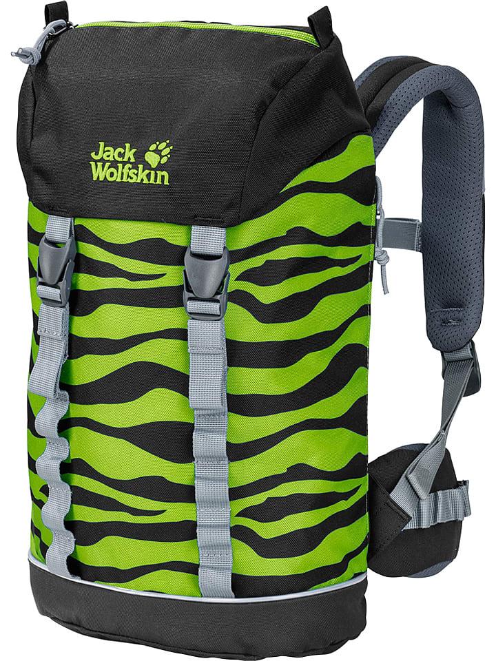 """Jack Wolfskin Plecak """"Jungle Gym"""" w kolorze zielonym - 22 x 39 x 15 cm"""
