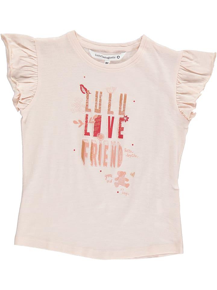 """Lulu Castagnette Koszulka """"Egie"""" w kolorze jasnoróżowym"""